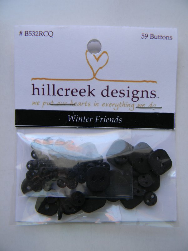 Winter Friends - button pack
