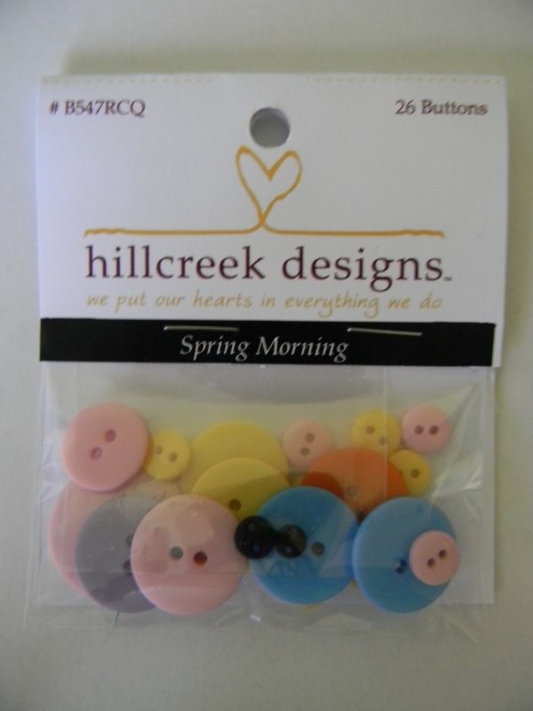 Spring Morning - button pack