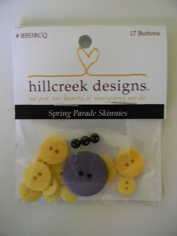 Spring Parade Skinnies - button pack