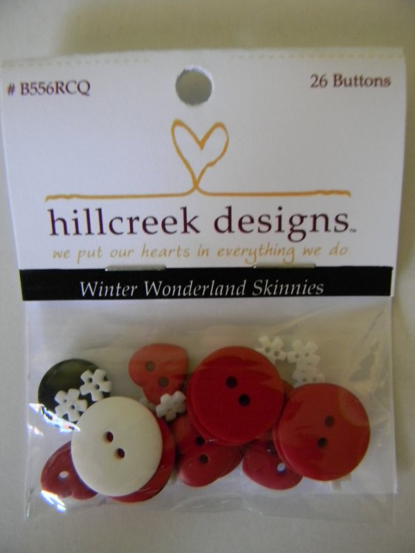 Winter Wonderland Skinnies - button pack