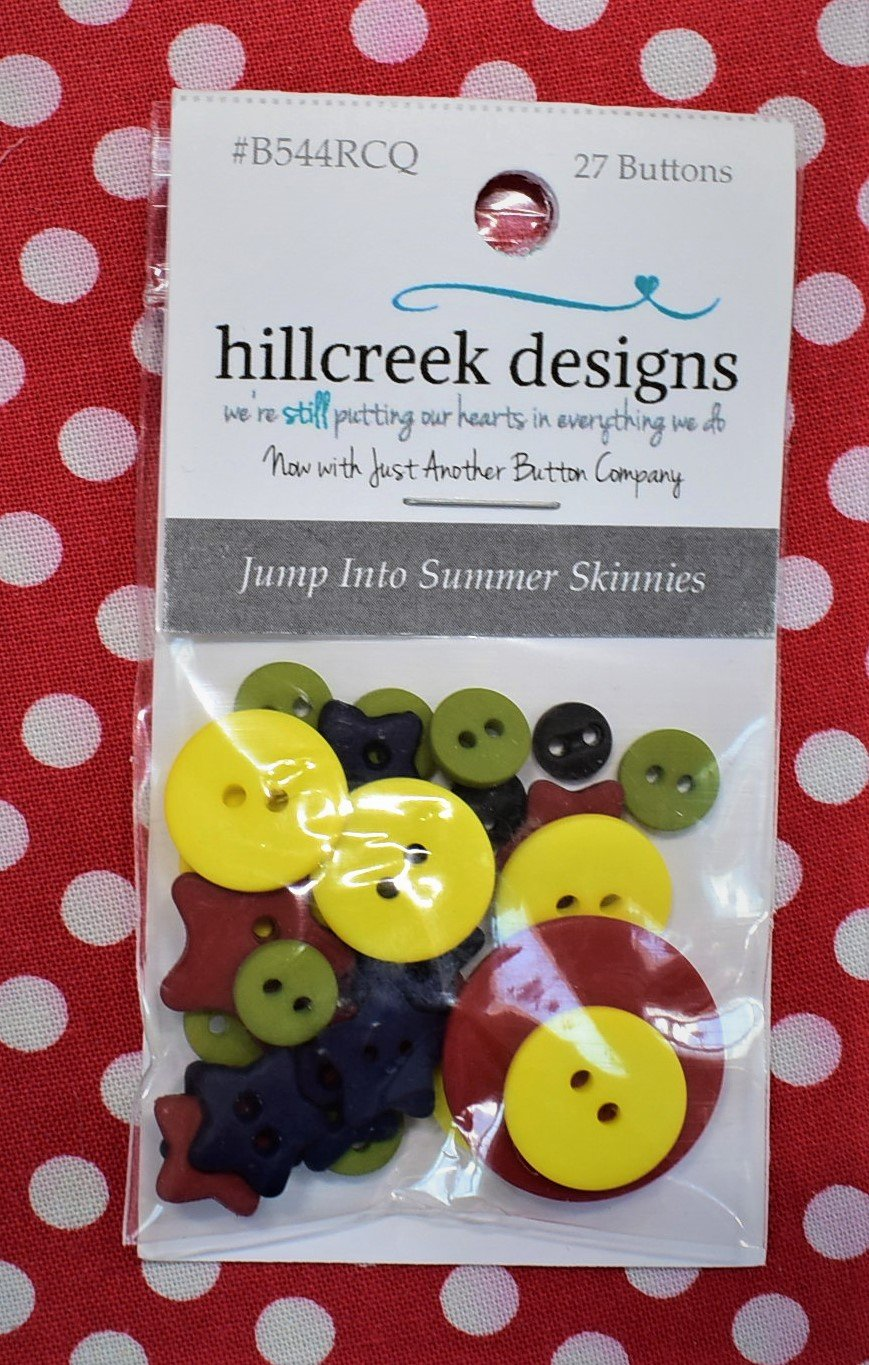 Jump into Summer - button pack