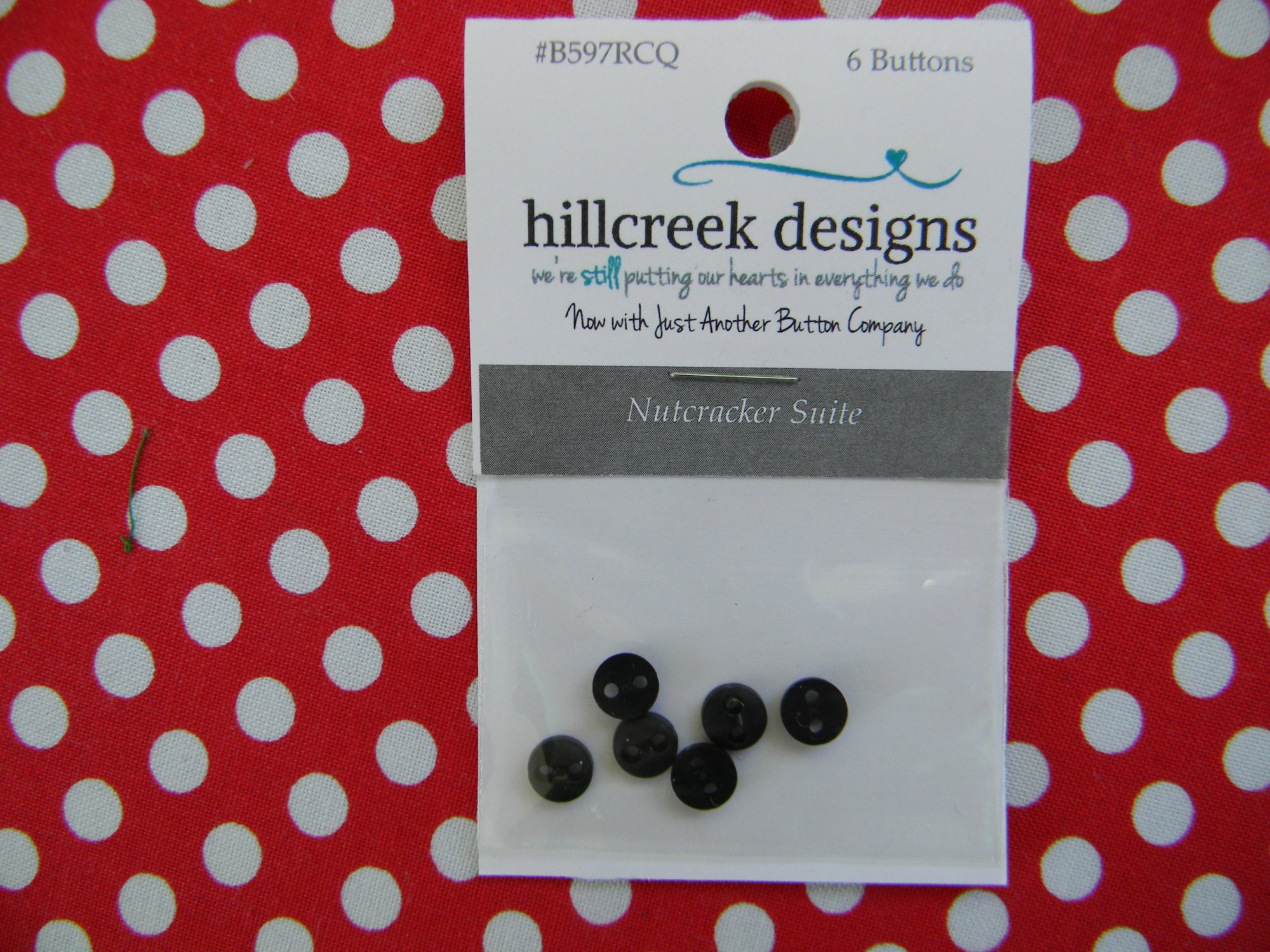 Nutcracker Suite - button pack