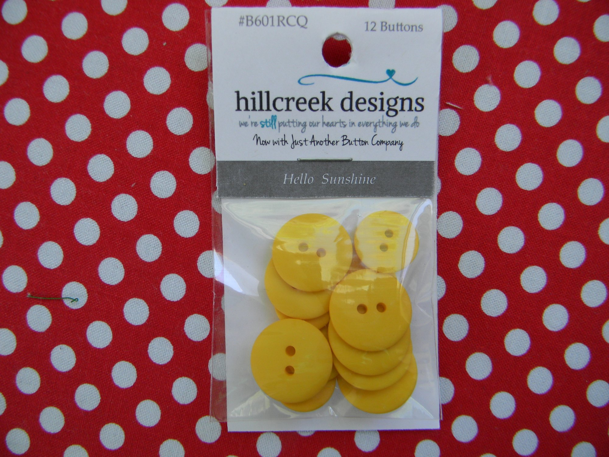 Hello Sunshine - button pack