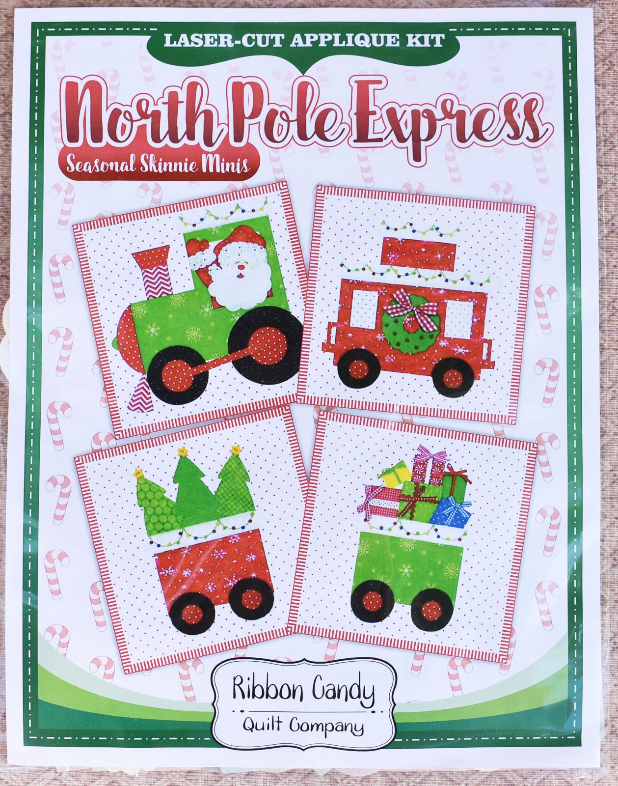 North Pole Express - Laser Cut Kits