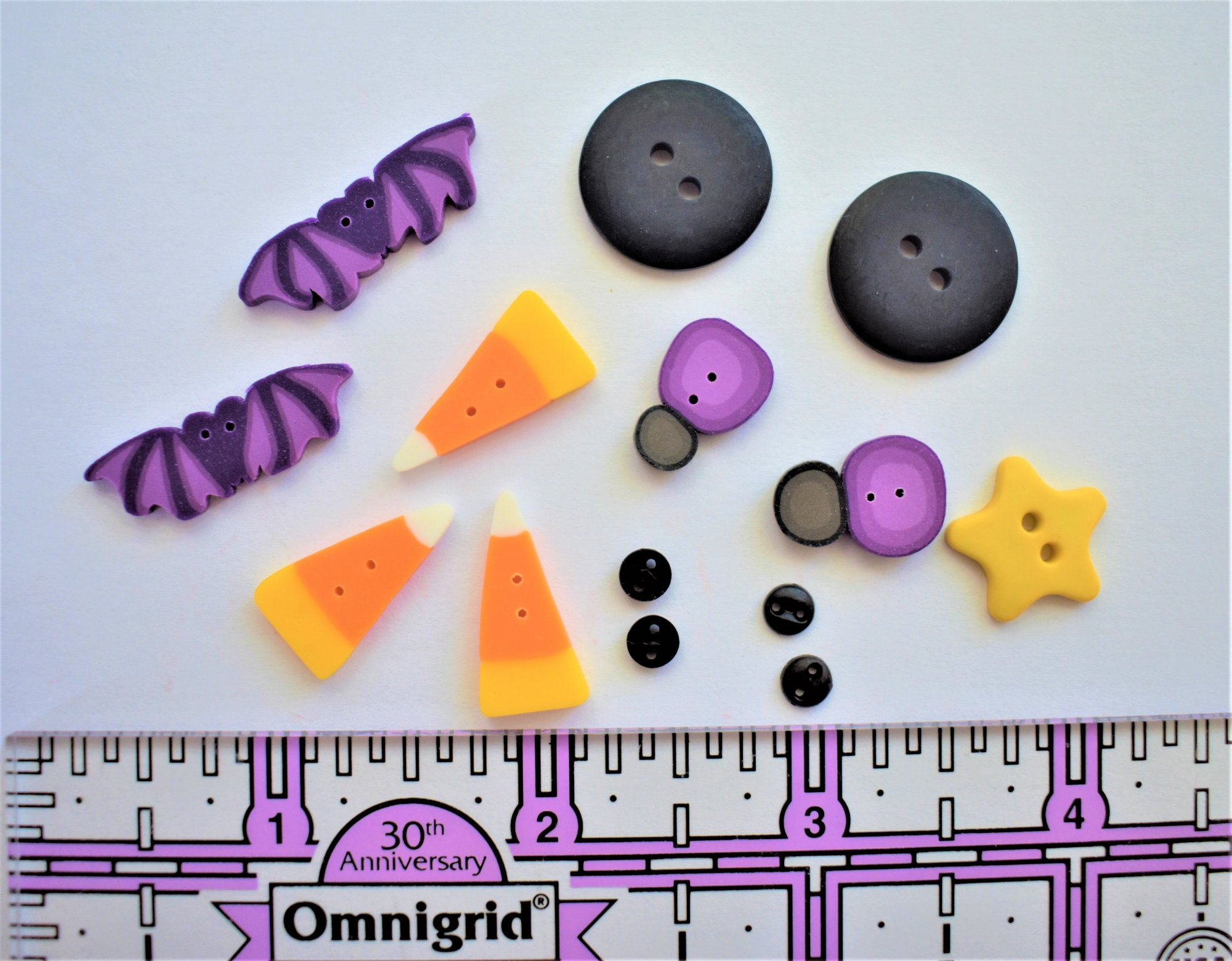October Wrap - button pack