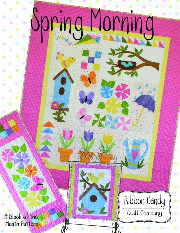Spring Morning - Block of the Month