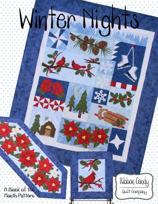 Winter Nights - Block of the Month