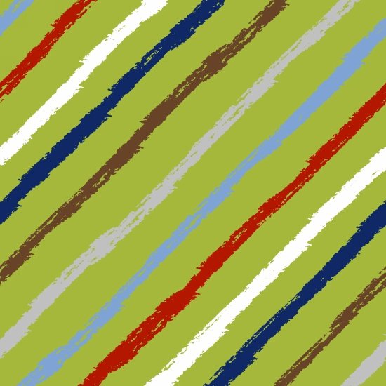 *Green Stripe Flannel - 5826-Green