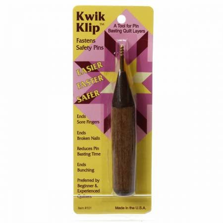 *Kwik Klip Safety Pin Tool - 101PJC