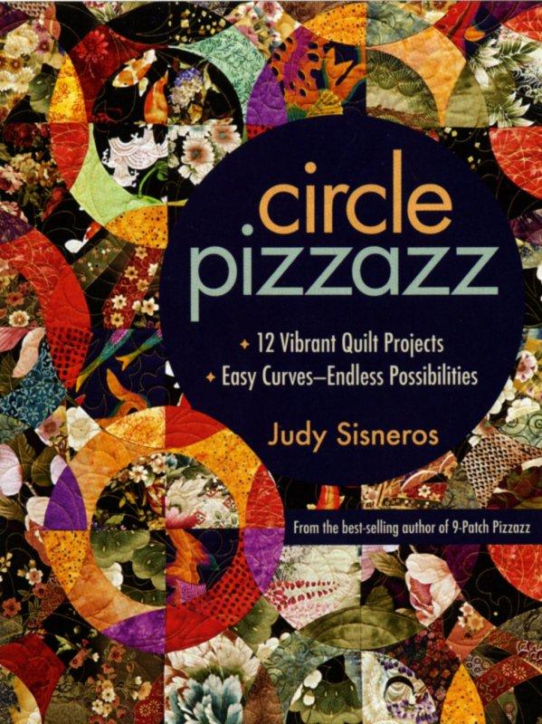Circle Pizzazz Quilt Book, 10908