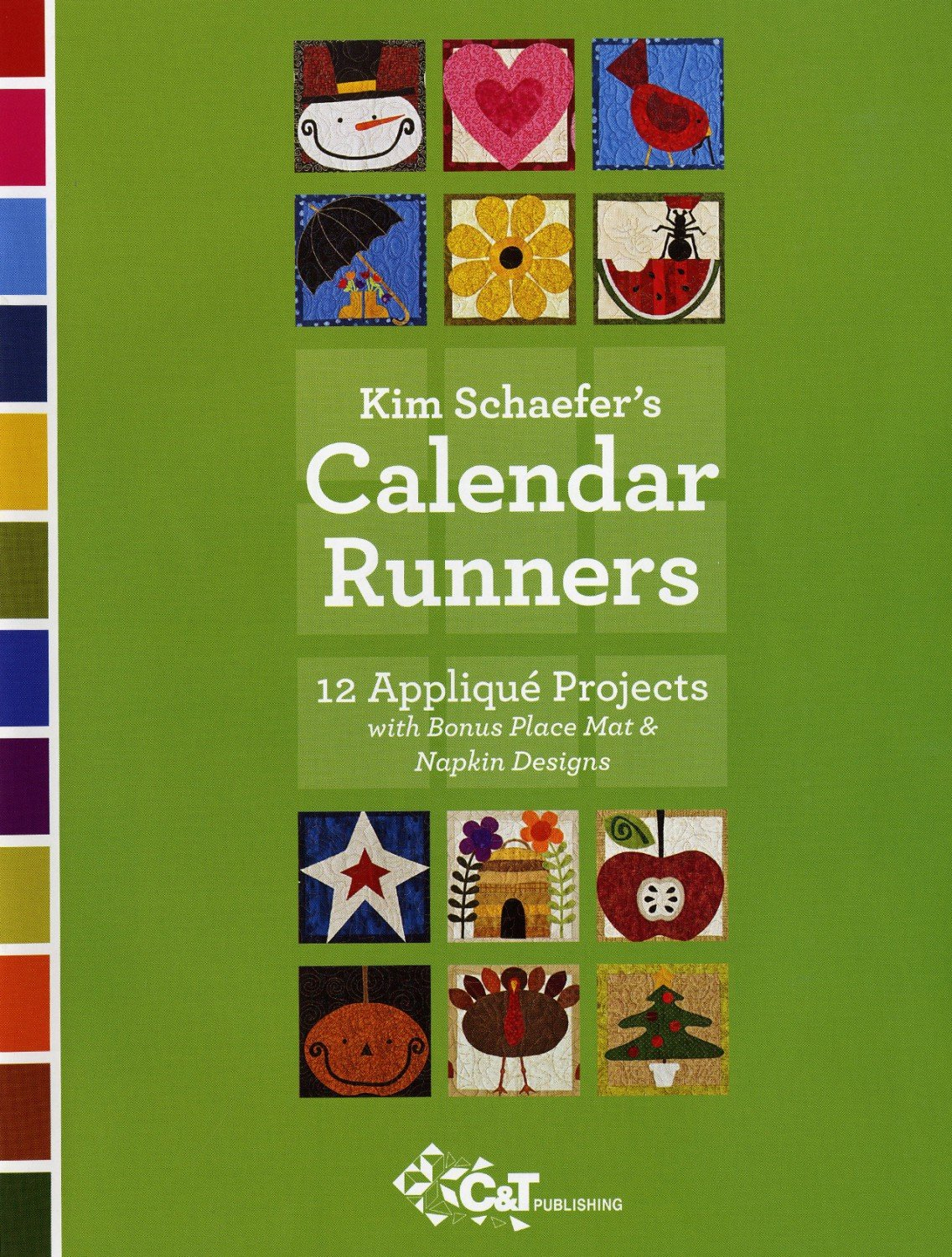 Kim Schaefer's Calendar Runners - 10928 - MAY BE RESTOCKED UPON REQUEST