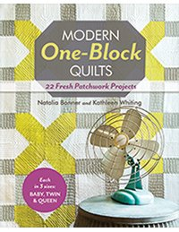 Modern One-Block Quilts - (10937) - MAY BE RESTOCKED UPON REQUEST