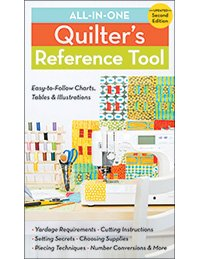 All-in-One Quilter's Reference Tool: Updated 2nd Edition - (11038) - MAY BE RESTOCKED UPON REQUEST