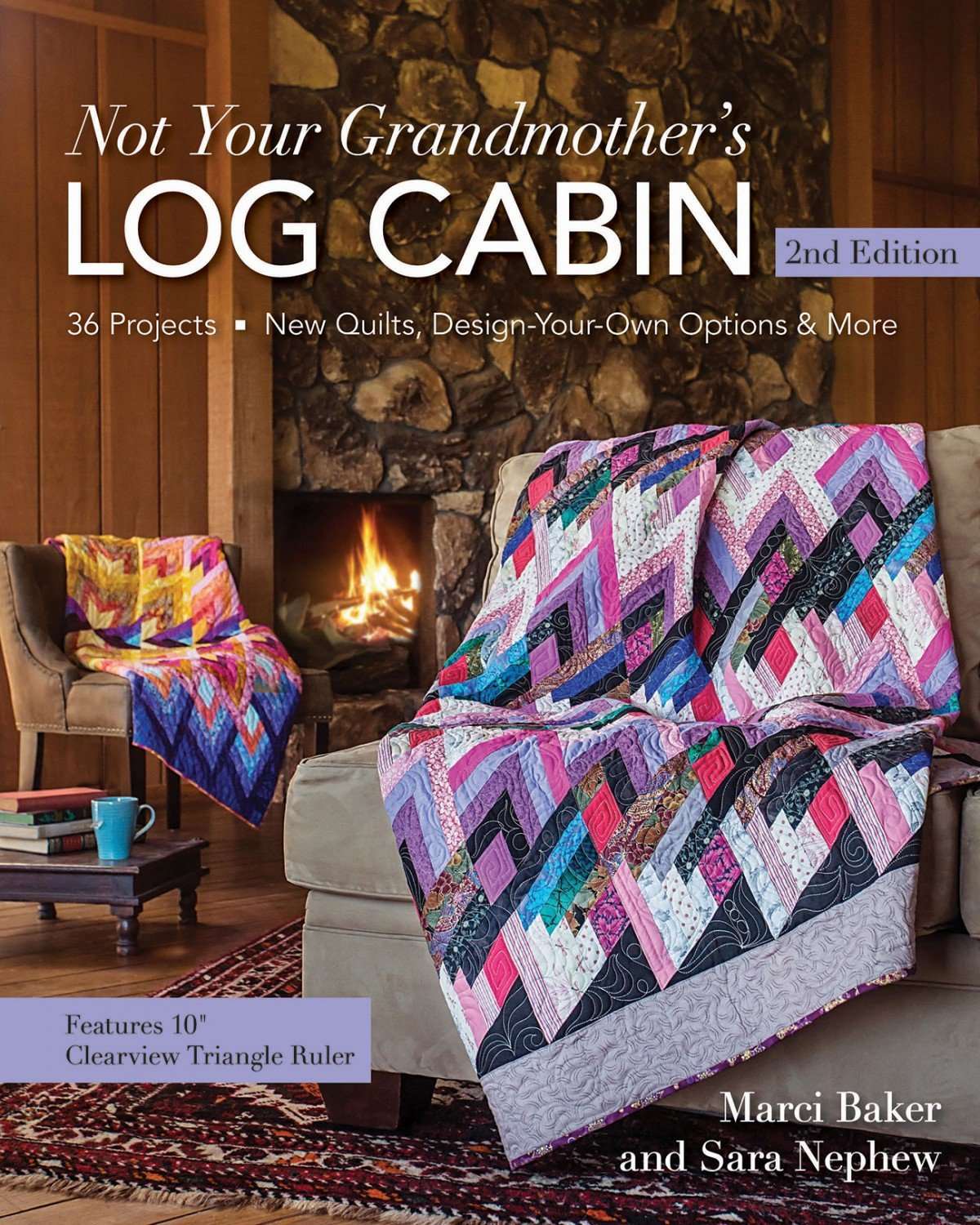 Not Your Grandmother's Log Cabin Book, 2nd Edition - 11161