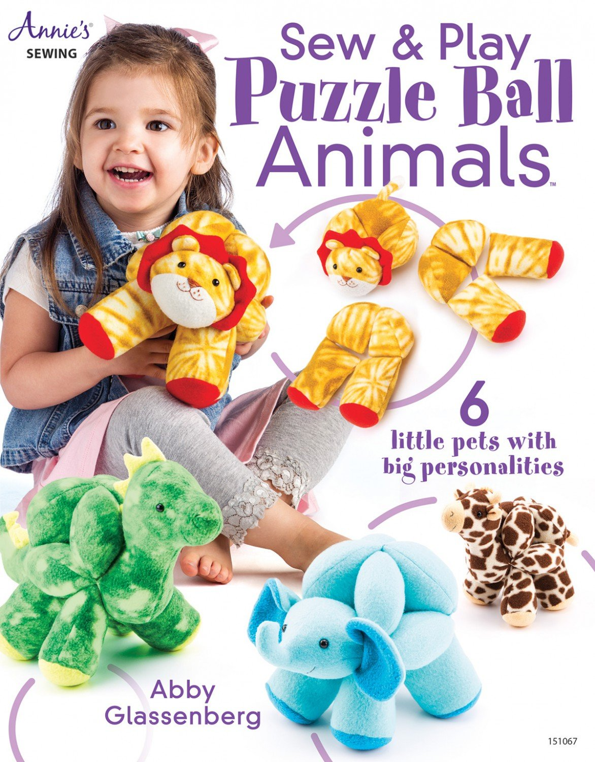 Sew & Play Puzzle Ball Animals - 151067 - MAY BE RESTOCKED UPON REQUEST