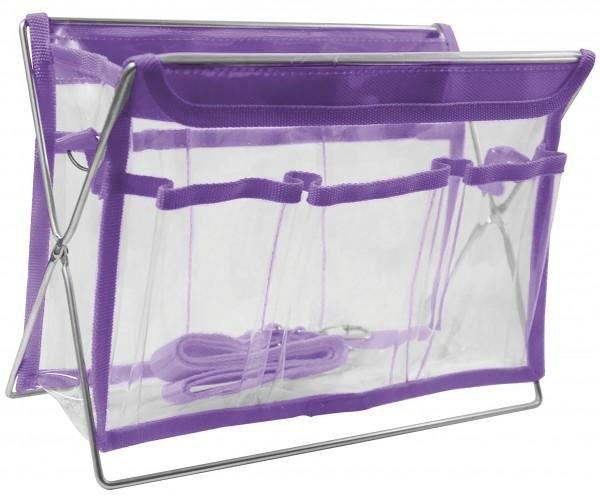 Large Sassy Tote Purple - 37275