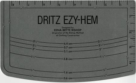 *Ezy Hem Gauge with Metrics - 617