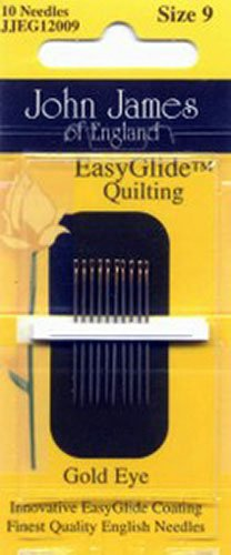 *John James Golden Glide Quilting Needle #9 - JJEG12009
