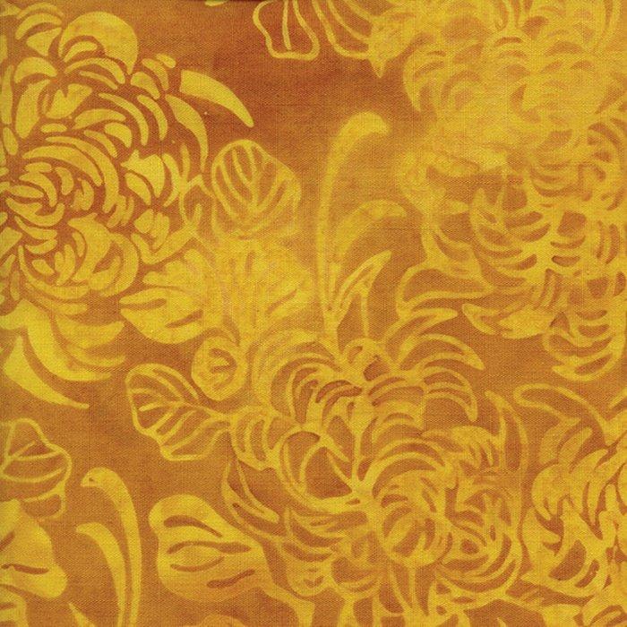 *Yellow Mums Batik - 121412229