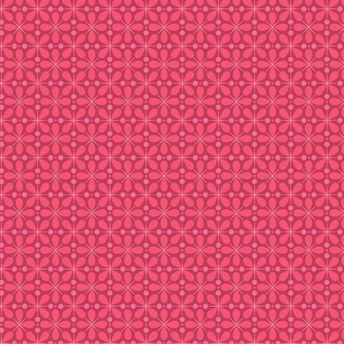 Dusty Rose Graphic Floral - A-7485-R
