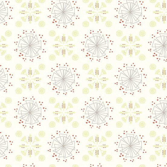 *Cream Graphic Motif  - A-L1003-1