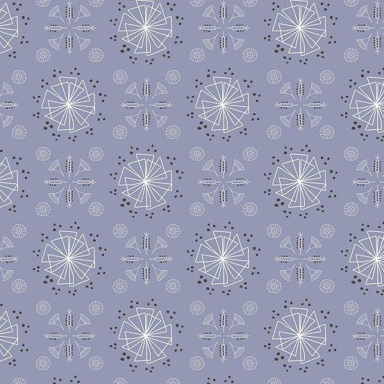 *Blue-Gray Graphic Motif  - A-L1003-3