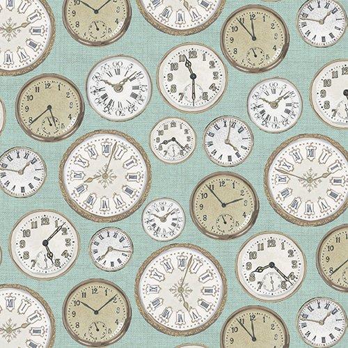 Teal Clocks  - TP-1442-B