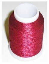 Yenmet Metallic Thread (Solid Red) - 110-SN8