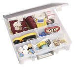 6-Compartment Super Satchel Box (Clear) - 9001AB