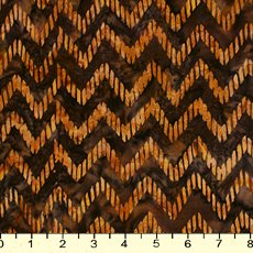 *Brown Chevron Batik - 9214