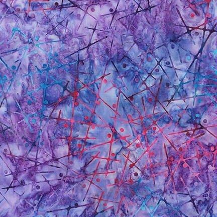 Purple Sticks and Dots - AMD-14957-22