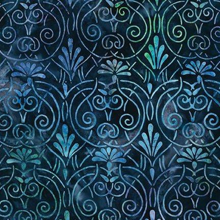 Art Deco Rain Artisan Batik - AMD-14975-279