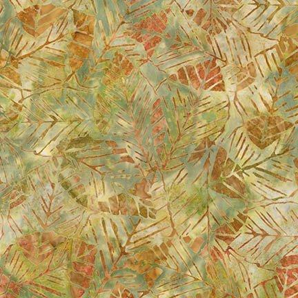 *Mango Big Leaf Seasons Batik - AMD-15503-146