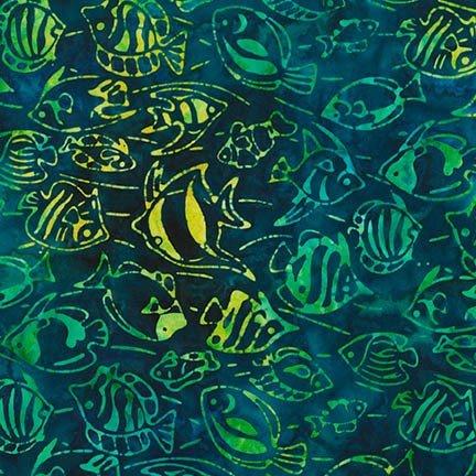 Caribbean Fish - AMD-16119-257