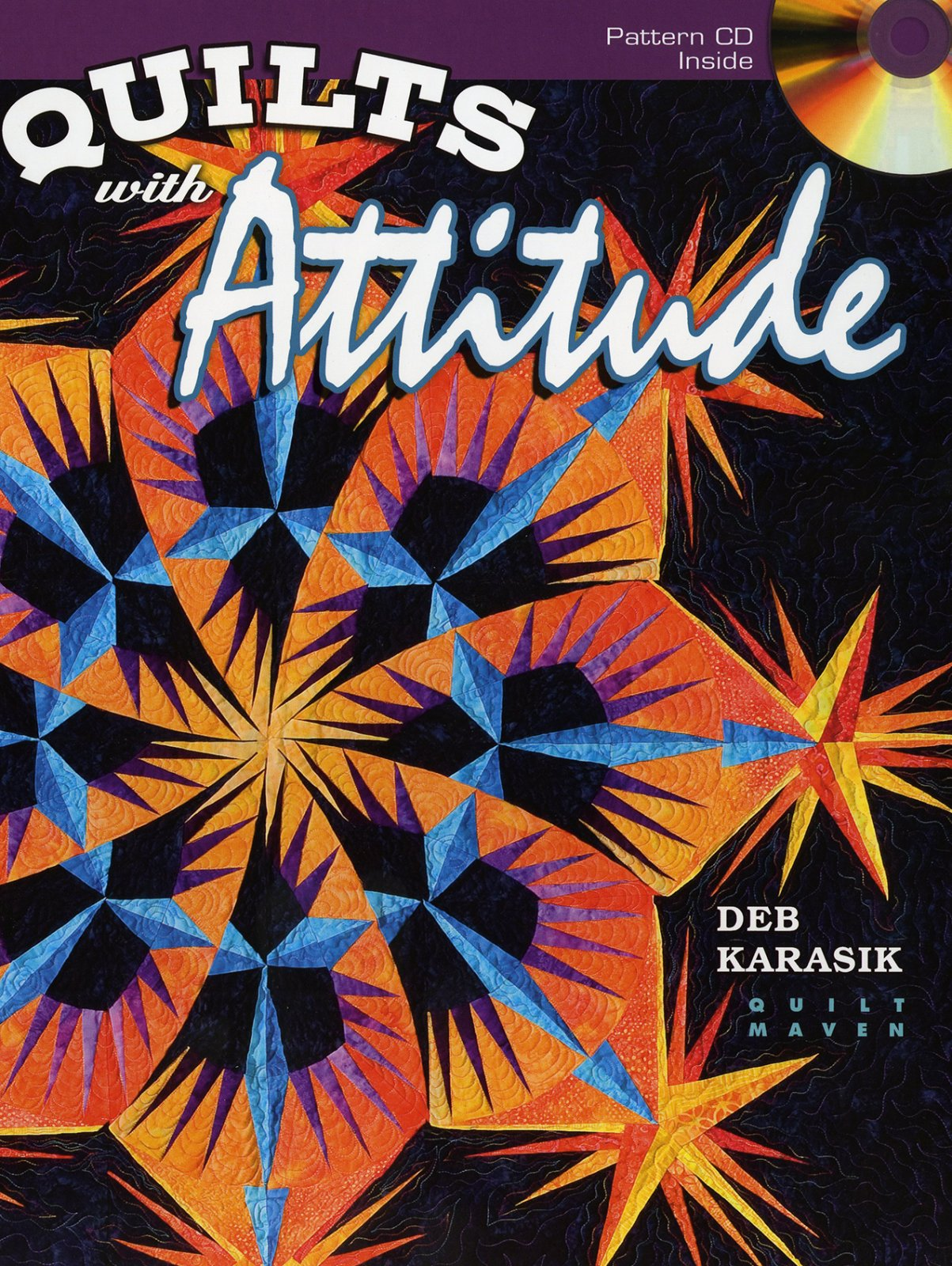 Quilts with Attitude - AQS7773 - MAY BE RESTOCKED UPON REQUEST