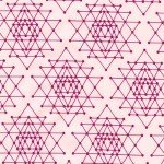 *Pink Stacked Triangles - AVL-17457-10