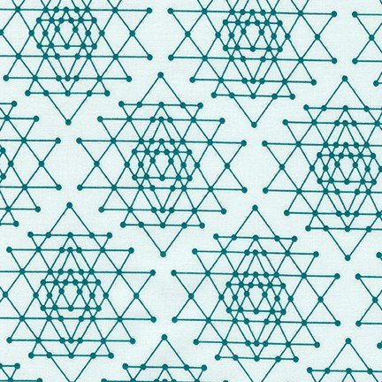 *Teal Stacked Triangles - AVL-17457-213