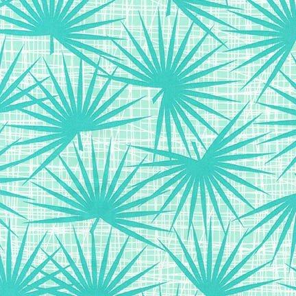 Aqua Palm Fronds AVL-17459-70