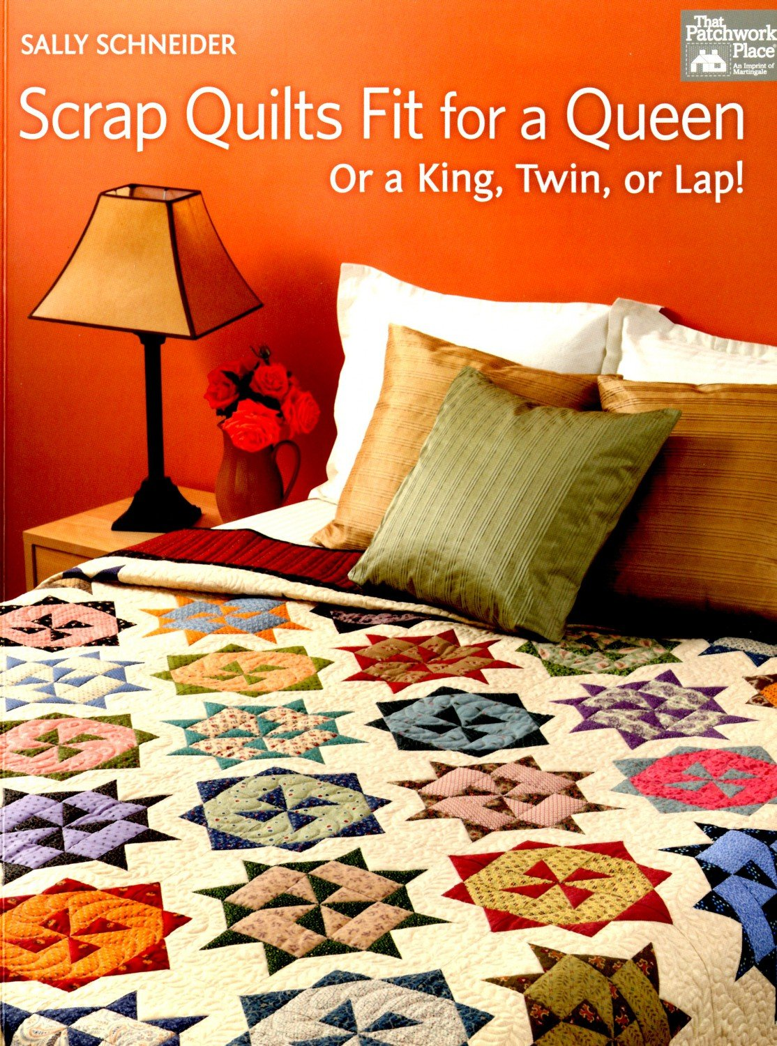 Scrap Quilts Fit for a Queen - B1150T - MAY BE RESTOCKED UPON REQUEST