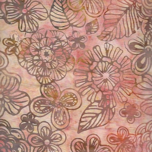 *Dawn Magic Garden Batik - B3670