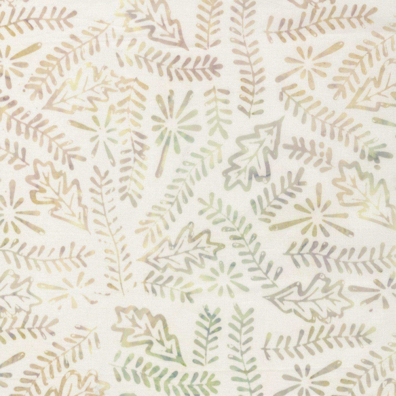*Coconut Leaves Tonga Batik - B4181-COCON