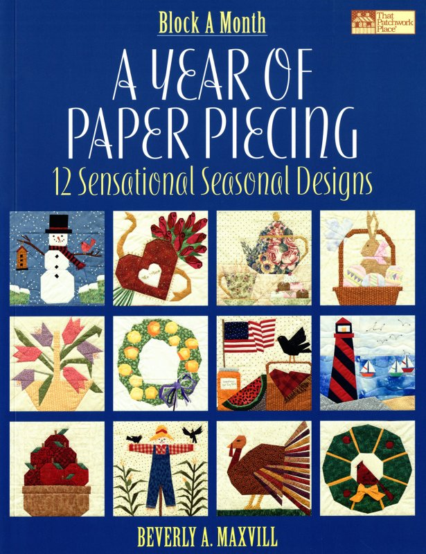 A Year of Paper Piecing book - B900T