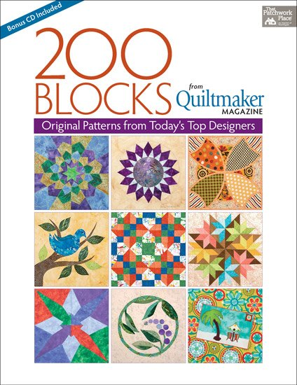 200 Blocks from Quiltmaker Magazine - (CB1148) - MAY BE RESTOCKED UPON REQUEST