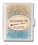Patchwork Glasshead Pin Size 30 Fine - 1 1/2in 100ct  - 2507CV