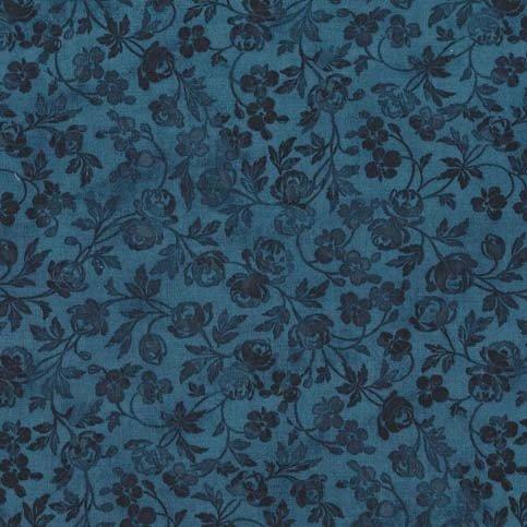 *Turquoise Delicata Flowers - CX7280-TURQ-D