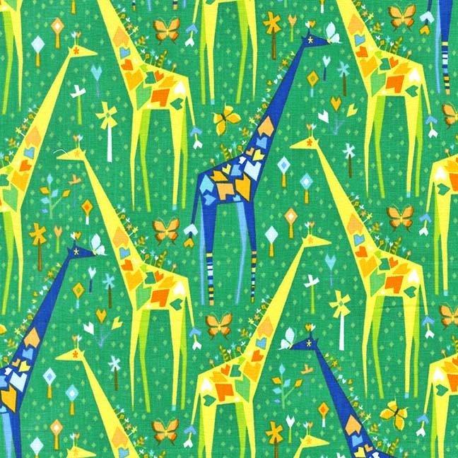 Stand Tall Giraffes - DC6397-GRAS-D