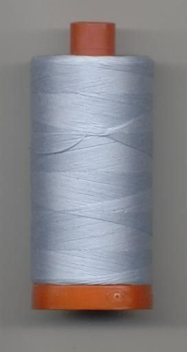 *Aurifil 50 wt. Cotton Mako Thread (Light Robin Blue) - 20051-2710