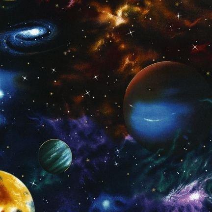 Black Multicolor Planets - EKJM-6075-2