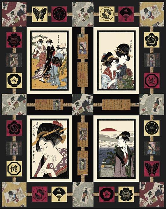 Geisha Gathering Quilt Kit