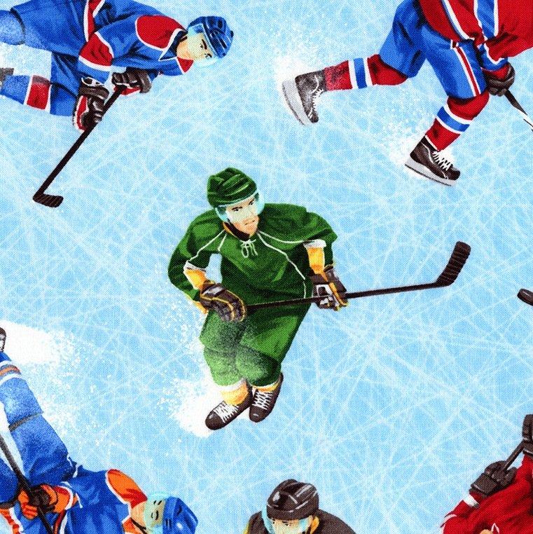 Hockey Players - C1768